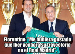 Enlace a Florentino, Casillas y Vegeta