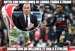 Enlace a Antes con 50 millones de libras tenías a Zidane