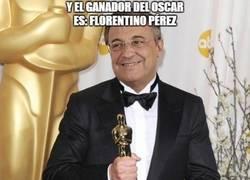 Enlace a Y el ganador del Oscar es: Florentino