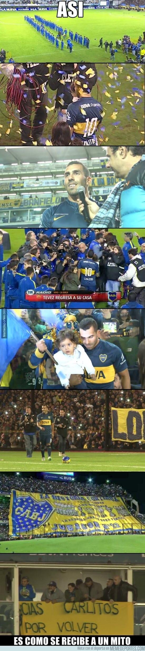 623561 - El impetuoso regreso de Tévez a Boca