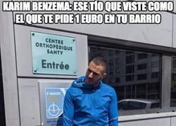 Enlace a Karim Benzema, un tío con estilo