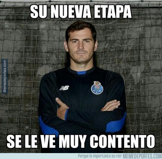 623793 - Casillas lleno de alegría....