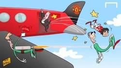 Enlace a Van Gaal echando a Valdés y Rafael