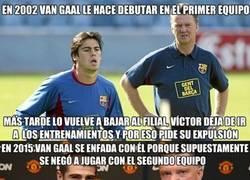 Enlace a La rivalidad entre Van Gaal y Valdés no es algo nuevo