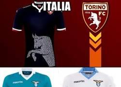 Enlace a Italia tiene las mejores camisetas