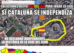Enlace a Al Barça le toca tirar de ingenio
