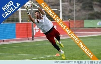 626056 - Algunas de las mejores paradas de Casilla, el nuevo portero del Real Madrid