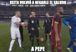 Enlace a Keita no perdona a Pepe