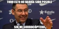 Enlace a Felicidades a Bartomeu. Presidente del Barça