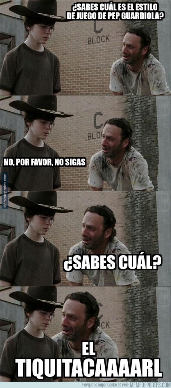 627153 - Rick y Carl... sobre Guardiola