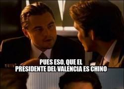 Enlace a Di Caprio y el chino del Valencia