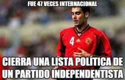 Enlace a  Guardiola cerrará la lista independentista de Mas