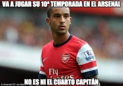 Enlace a Va a jugar su 10ª temporada en el Arsenal