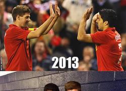 Enlace a Fans del Liverpool esta temporada...