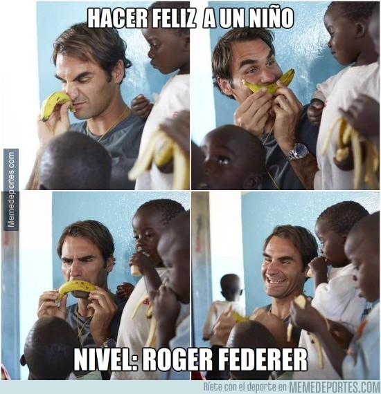 628530 - Aunque se parte él solo. Grande Federer