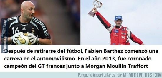 628989 - Fabien Barthez, campeón en cualquier deporte