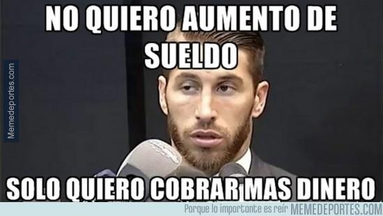 629025 - Ramos justificando su petición a Florentino