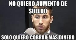 Enlace a Ramos justificando su petición a Florentino