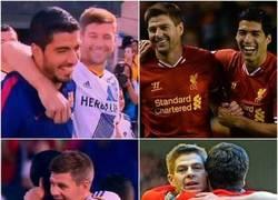 Enlace a Esta madrugada ha habido reencuentro de dos ídolos del Liverpool