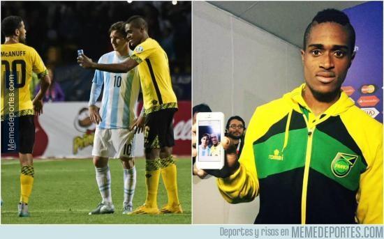 629717 - Jamaica a la final de la Copa Oro. Messi, contigo empezó todo