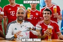 Enlace a En Munich ya esperan a Vidal con sus birras en mano