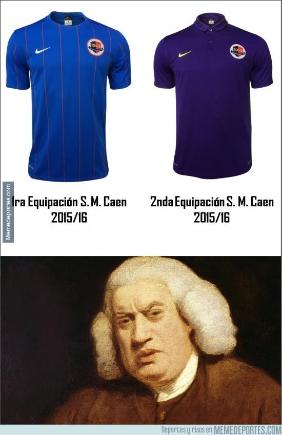 641980 - Gran diferencia en las camisetas del Caen