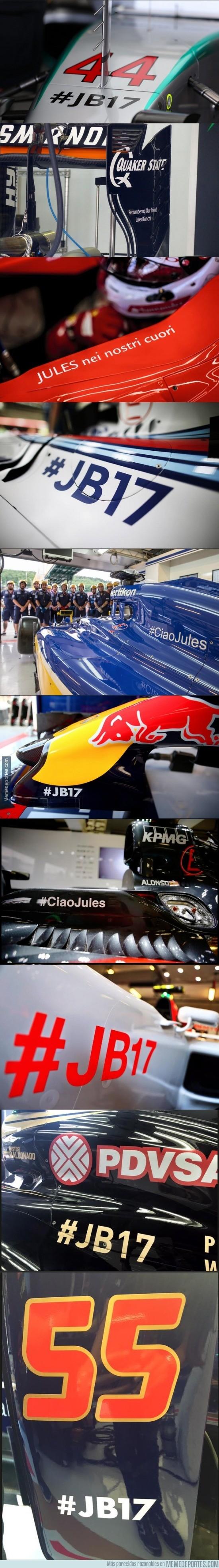 642797 - La F1 recuerda a Bianchi en Hungría #JB17 #CiaoJules