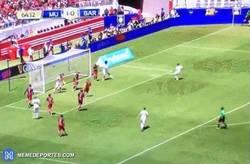 Enlace a GIF: Gol de Lingard, segundo del Manchester United