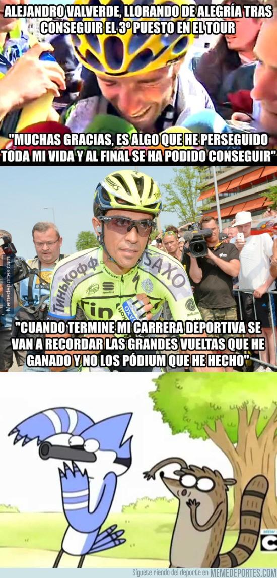 643508 - Valverde y Contador, el amor está en el aire