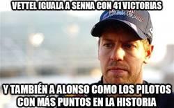 Enlace a Vettel haciendo historia