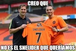 Enlace a Cuando fichas el Sneijder equivocado