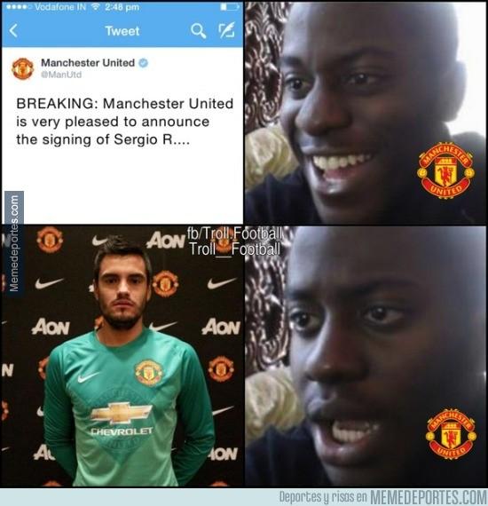 644324 - Decepción de los aficionados del Manchester United con el nuevo fichaje