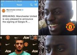 Enlace a Decepción de los aficionados del Manchester United con el nuevo fichaje