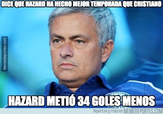 645067 - Mourinho pone por encima a Hazard