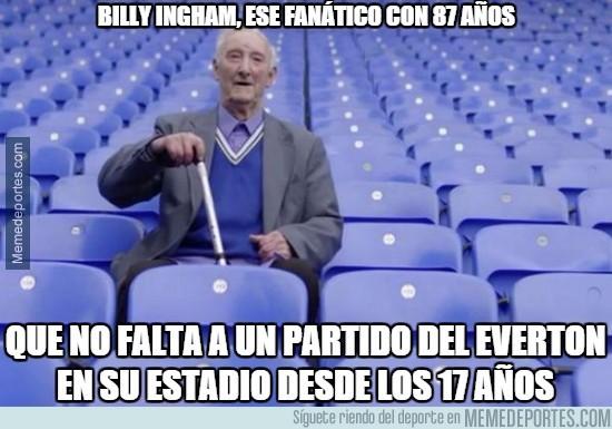 645295 - Billy Ingham, ese fanático con 87 años