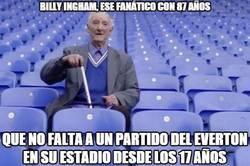 Enlace a Billy Ingham, ese fanático con 87 años