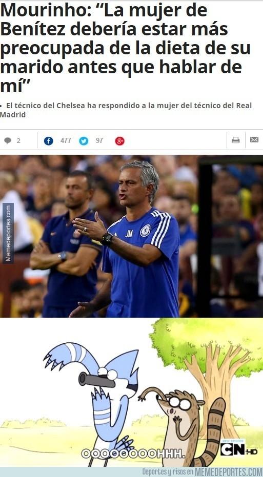 645632 - Mourinho no puede estar callado ni un segundo