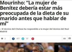 Enlace a Mourinho no puede estar callado ni un segundo