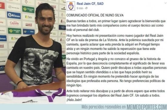 645684 - Comunicado oficial de Nuno Silva ante su liada parda