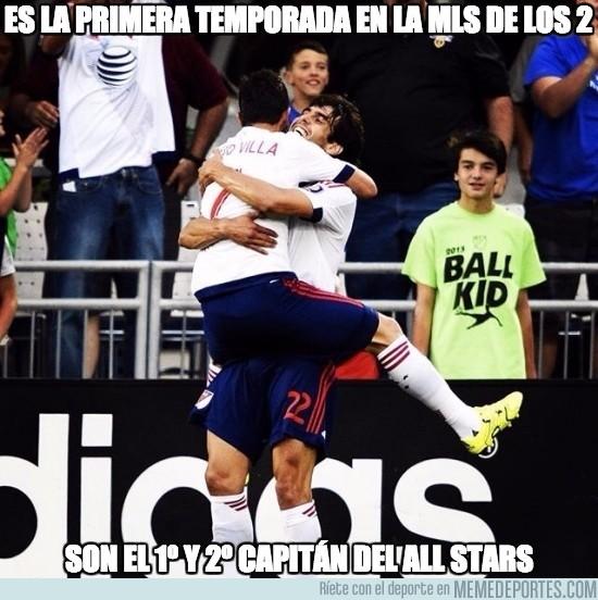 646298 - Villa y Kaka, cracks del All-stars de la MLS