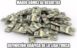 Enlace a Mario Gómez al Besiktas