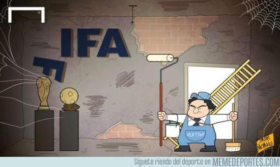 646549 - Platini presenta su candidatura a la presidencia de la FIFA