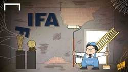 Enlace a Platini presenta su candidatura a la presidencia de la FIFA