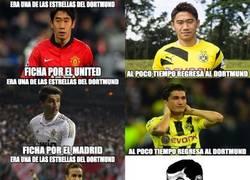 Enlace a Las estrellas del Dortmund siempre regresan