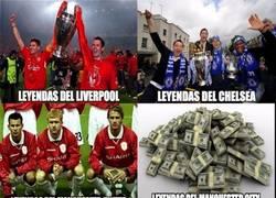 Enlace a Las leyendas de los clubes ingleses