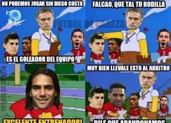Enlace a Mourinho al ver la lesión de Diego Costa