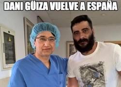 Enlace a Dani Güiza vuelve a España