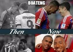 Enlace a Peléate con Boateng si quieres ir al Bayern