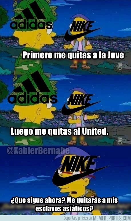 647528 - Adidas le arrebata a Nike otro coloso europeo