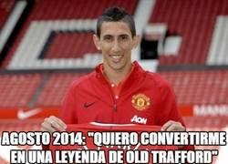 Enlace a Di María, la gran leyenda de Old Trafford